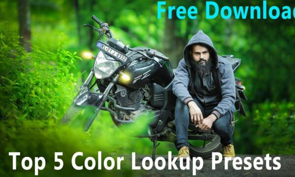 Download free top 5 color lookup 3D LUTs presets for Photoshop CC