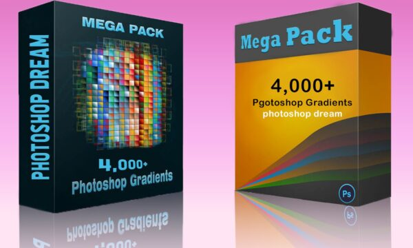 4,000+ Free Photoshop Gradients Pack for Designers - photoshop dream