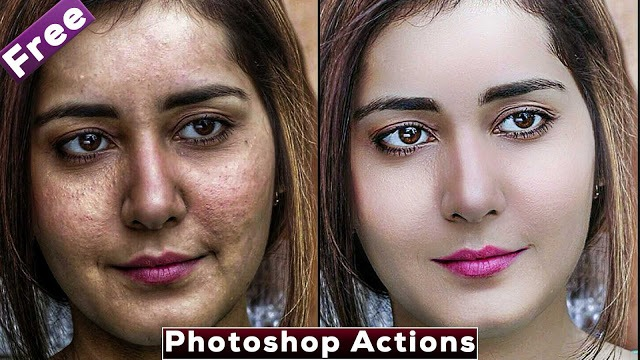 Best Skin Retouching Photoshop Actions | Download Free Photoshop Actions