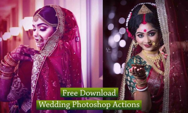 Free Download Wedding Photoshop Actions, Free Professional Wedding Photoshop Actions