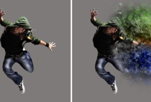Dispersion Photoshop Action Free Download