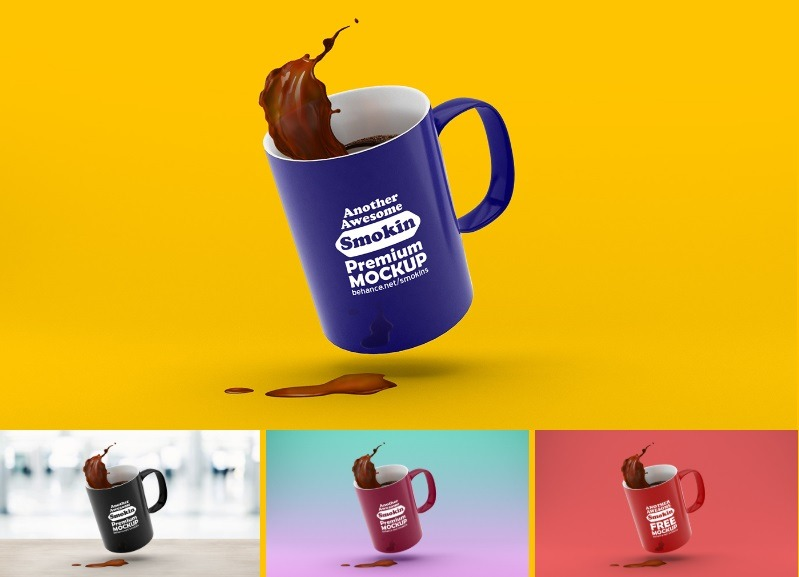 Download Free Mug Logo Mockup - Mug Mockup Free Download