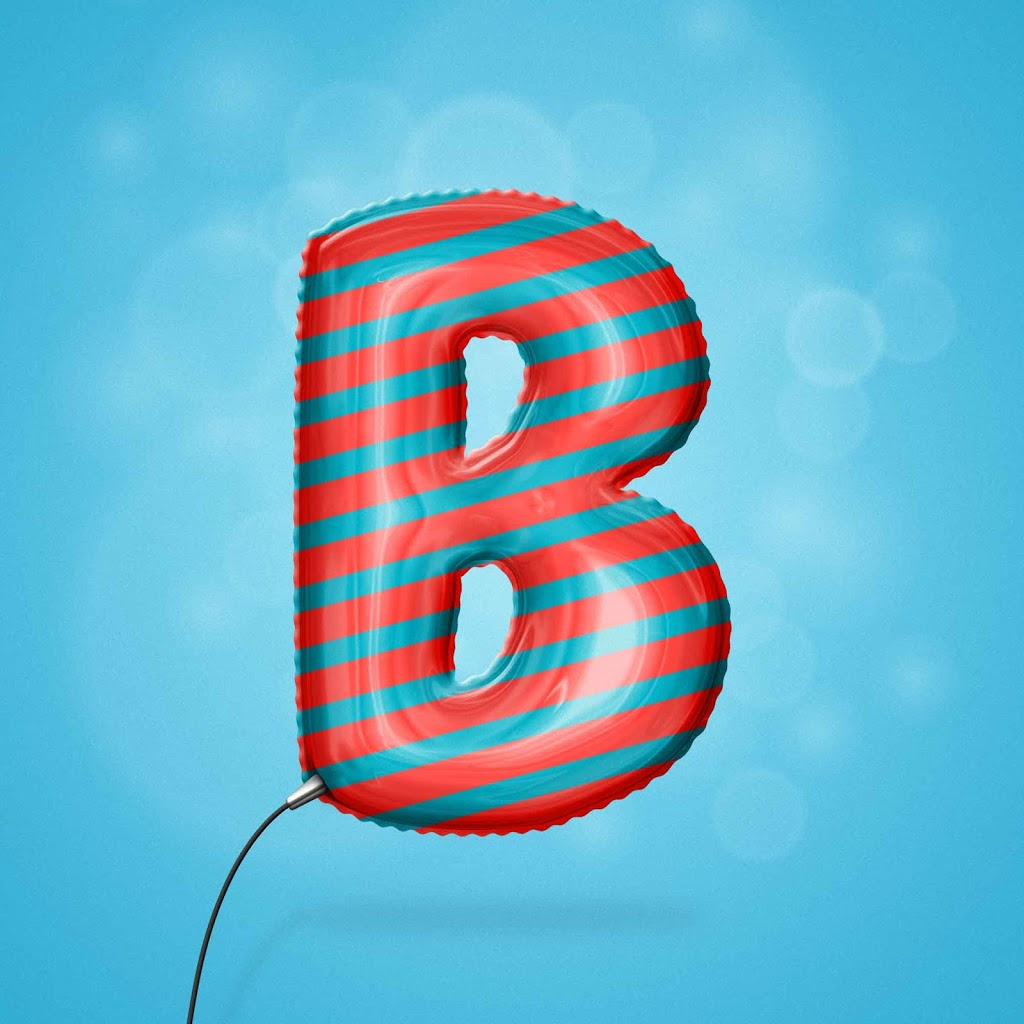 Foil Balloon Text Effect for Photoshop - DOWNLOAD FREE Text Effects Actions