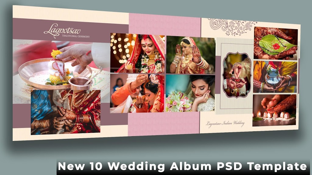 Wedding Album Design Psd Free Download 12x36 Psd Templates