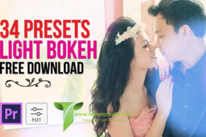 Free Download 34 Presets Light Bokeh Transition For Adobe Premiere Pro